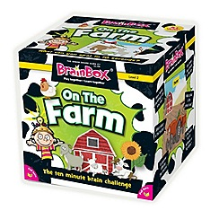 The Green Board Game Co - BrainBox On The Farm