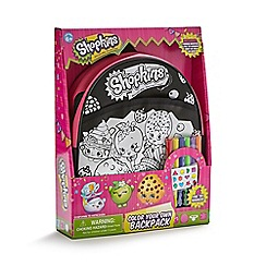 Shopkins - Colour your own backpack