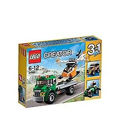 LEGO - LEGO Creator - Chopper Transporter - 31043