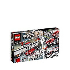 LEGO - Porsche 919 Hybrid and 917K Pit Lane - 75876