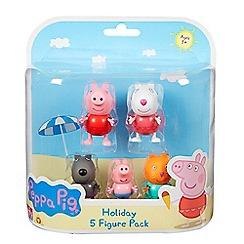 Peppa Pig - Holiday 5-figure pack