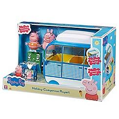 Peppa Pig - Holiday campervan playset