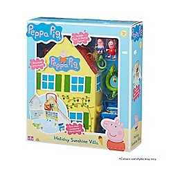 Peppa Pig - Holiday sunshine villa