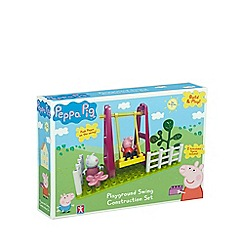 Peppa Pig - Swing playground set with Peppa and Suzy (14 pieces)