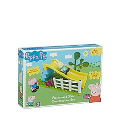Peppa Pig - Slide playground set with Rebecca and George (12 pieces)