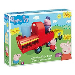 Peppa Pig - Grandpa pig's train with Grandpa and Peppa (22 pieces)