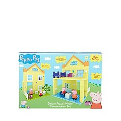 Peppa Pig - Bricks peppa house with mummy and george