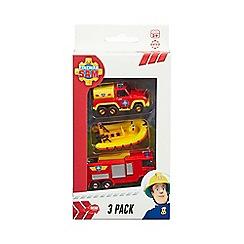 Fireman Sam - 3-pack of die-cast
