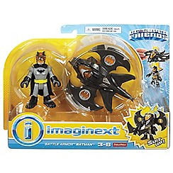 DC Comics - IMAGINEXT DC SUPER FRIENDS Battle Armor Batman