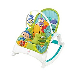 Fisher-Price - Rainforest friends newborn-to-toddler portable rocker