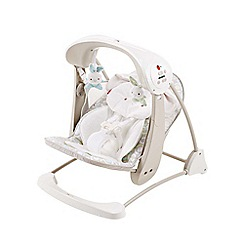 Fisher-Price - Deluxe take-along swing and seat