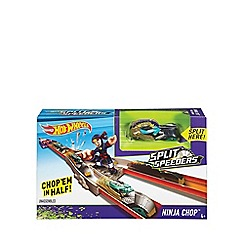 Hot Wheels - Split speeders ninja chop track set