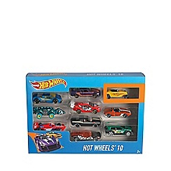 Hot Wheels - 10 car pack