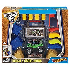 Hot Wheels - Monster jam crash and carry arena play set