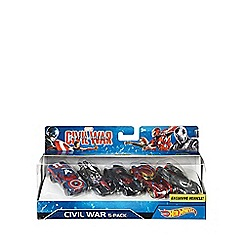 Captain America - Civil War Character Car 5-Pack