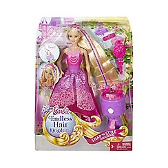 Barbie - Endless Hair Kingdom Snap 'n Style Princess