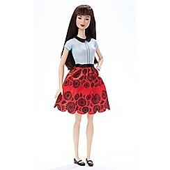 Barbie - Fashionistas doll 19 ruby red floral