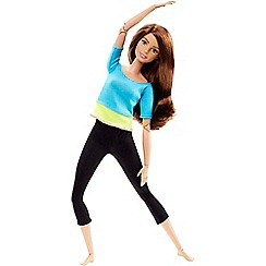 Barbie - Made to move doll - blue top
