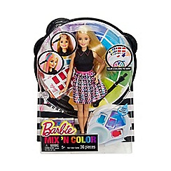 Barbie - Mix 'n colour doll
