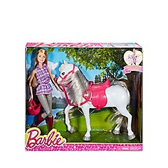Barbie - Doll and horse