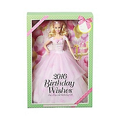 Barbie - 2016 birthday wishes doll