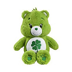 Care Bears - 35cm Good Luck bear with DVD