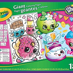 Crayola - Shopkins Giant Colouring Pages