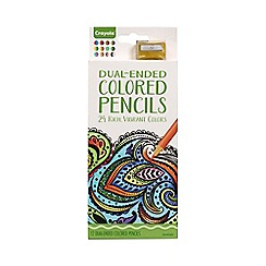 Crayola - Adult Colouring 12ct Dual Sided Pencils
