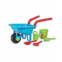 Early Learning Centre - Blue wheelbarrow set