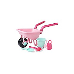 Early Learning Centre - Pink Wheelbarrow set