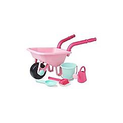 Early Learning Centre - Pink Wheelbarrow set
