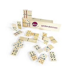 Plum - Wooden Garden Dominoes