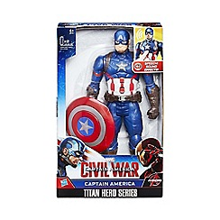 Marvel - Titan Hero Series Captain America Electronic Figure