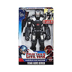 Marvel - Titan Hero Series Marvel s War Machine Electronic Figure