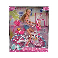 Simba - Bike tour doll playset