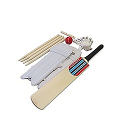 Mookie - Complete wooden cricket set size 3