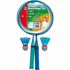 Mookie - Mini badminton set in clamshell