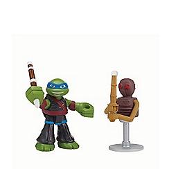 Teenage Mutant Ninja Turtles - Half-Shell Heroes 2 Pack - Dojo Leo with Foot Soldier Dummy