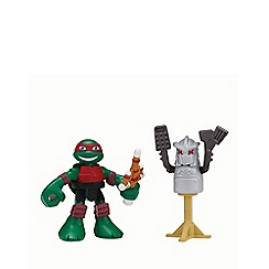 Teenage Mutant Ninja Turtles - Half-Shell Heroes 2 Pack - Dojo Raph with Shredder Dummy