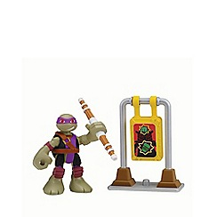 Teenage Mutant Ninja Turtles - Half-Shell Heroes 2 Pack - Dojo Donnie with Training Target