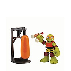 Teenage Mutant Ninja Turtles - Half-Shell Heroes 2 Pack - Dojo Mikey with Training Bag