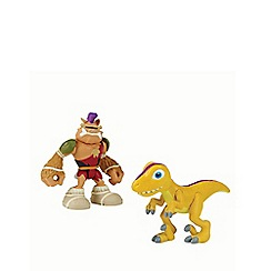 Teenage Mutant Ninja Turtles - Half-Shell Heroes 2 Pack - Dino Bebop and Raptor
