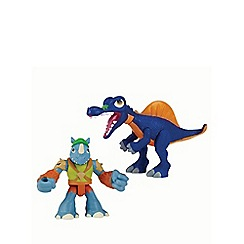 Teenage Mutant Ninja Turtles - Half-Shell Heroes 2 Pack - Dino Rocksteady and Spinosaurus
