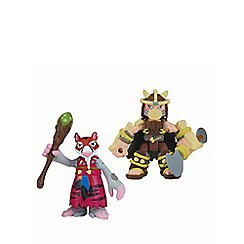 Teenage Mutant Ninja Turtles - Half-Shell Heroes 2 Pack - Dino Splinter and Dino Shredder