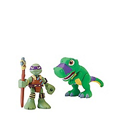 Teenage Mutant Ninja Turtles - Half-Shell Heroes 2 Pack - Dino Donnie and T-Rex