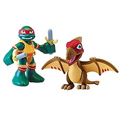 Teenage Mutant Ninja Turtles - Half-Shell Heroes 2 Pack - Dino Raph and Pteranodon