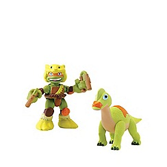 Teenage Mutant Ninja Turtles - Half-Shell Heroes 2 Pack - Dino Mikey and Brachiosaurus