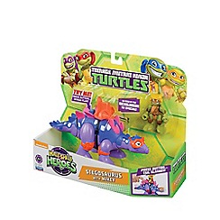 Teenage Mutant Ninja Turtles - Half-Shell Heroes Dino and Figure - Stegosaurus and Mikey
