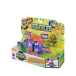 Teenage Mutant Ninja Turtles - Half-Shell Heroes Dino and Figure - Stegosaurus and Mikey