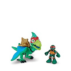 Teenage Mutant Ninja Turtles - Half-Shell Heroes Dino and Figure - Pterodactyl and Raph